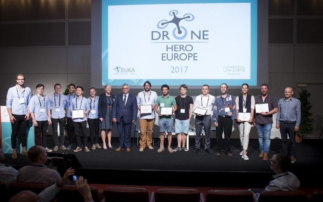 Europa kiest haar drone-helden