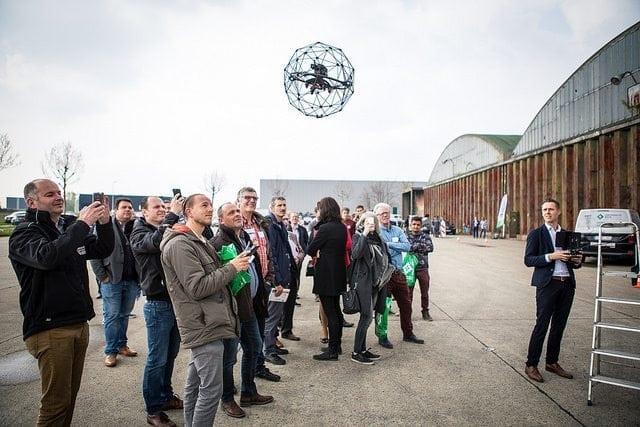Drones in de bouw: wat zegt de wet?