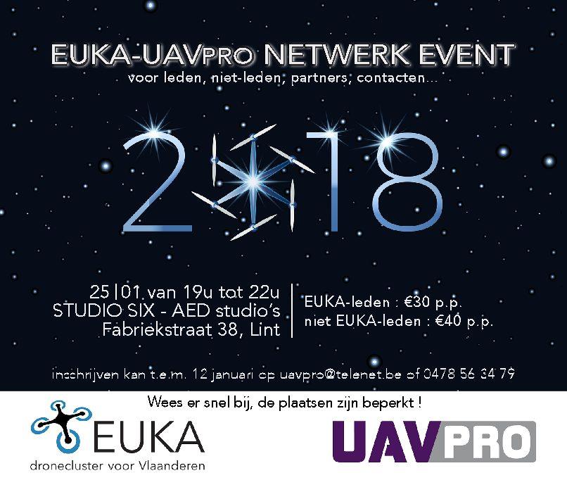 EUKA & UAV Professionals België – Netwerk Event