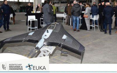 Vruchtbare contacten tijdens 'Drones in Land- en Tuinbouw'