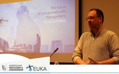 Stuurgroep EUKA op bezoek bij Unifly