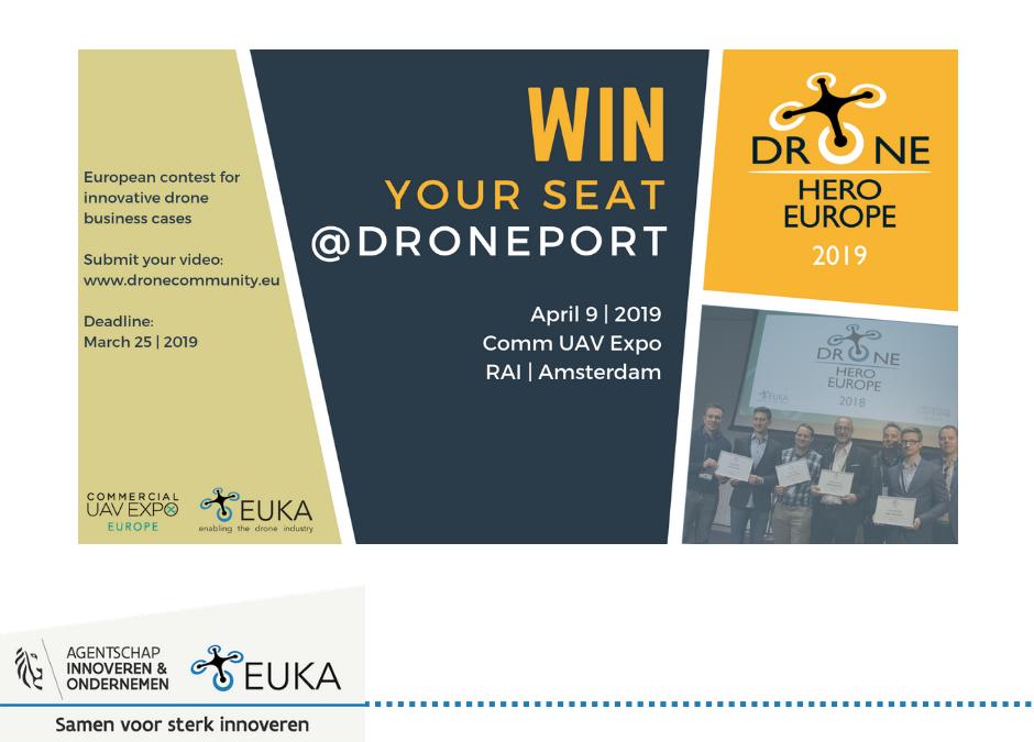 Drone Hero Europe met korting voor EUKA-leden