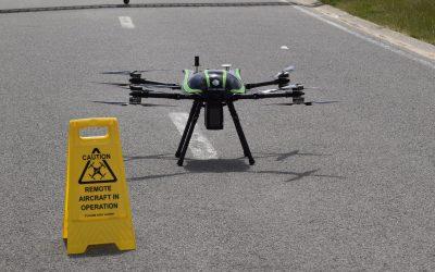 Stormbee demonstreert scannerdrone met LIDAR-technologie