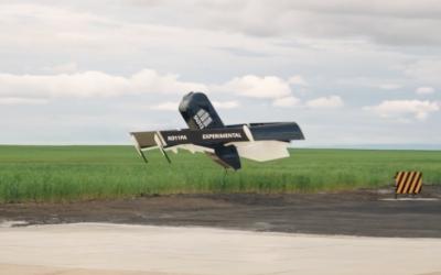 Dit is de nieuwe transformerende Prime Air pakjesdrone van Amazon
