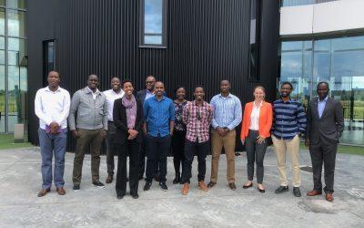 Rwandezen die netwerk van droneports willen bouwen op bezoek in België