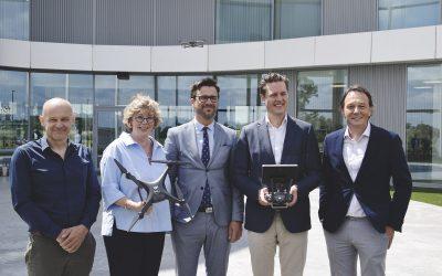 PXL, DronePort en Provinciebestuur lanceren opleiding Drones Business Architect