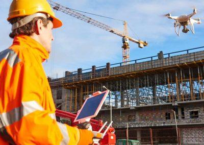 VIS-Haalbaarheidsstudie: Drones als hulpmiddel in de bouw