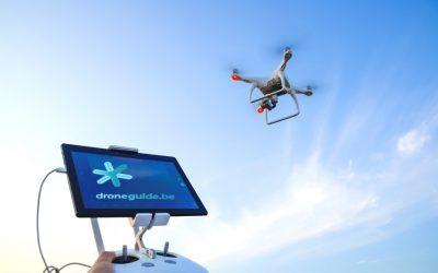 Nieuwe versie Droneguide voor professionelen is wereldwijde primeur