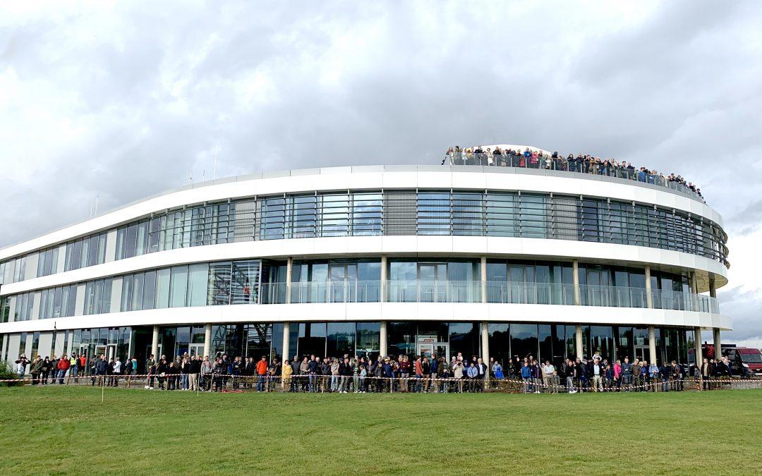 Meer dan 3000 bezoekers in DronePort tijdens VOKA Open Bedrijvendag