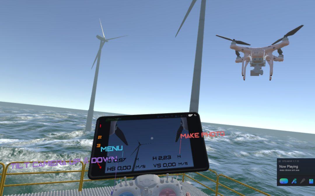 1ste Belgische professionele VR Drone-Trainingssimulator