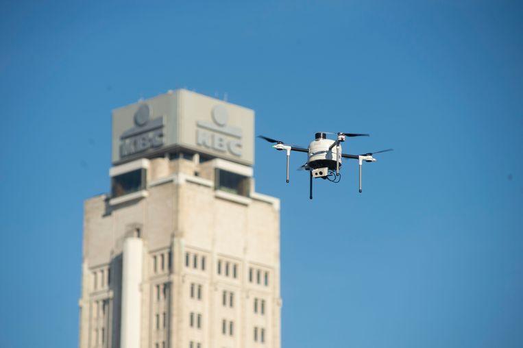 Antwerpse politie en brandweer proeven van volledig automatische drone YACOB