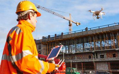 EUKA en WTCB publiceren studie over drones als hulpmiddel op de bouwwerf