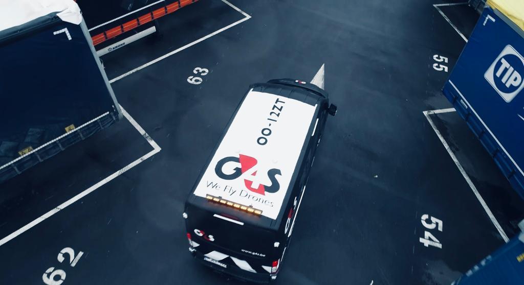 Bewakingsfirma G4S zet drones in tijdens events en doet ook inspecties met drones