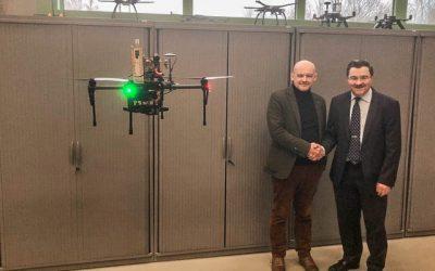EUKA integreert haar werking in Flanders Make onder een aparte drone-afdeling