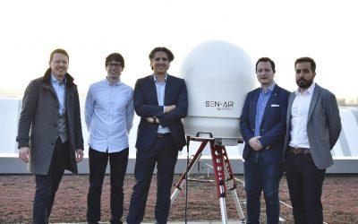 Senhive demonstreert counterdrone-toepassing die RF, RADAR en visual data samenbrengt in één interface