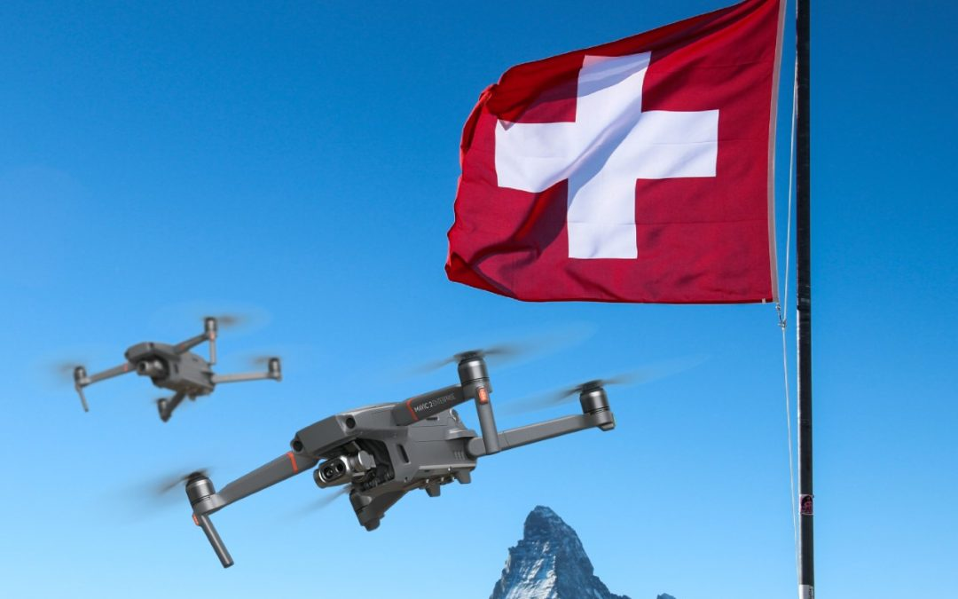 UITGESTELD: Buitenlandse Drone Missie naar Zürich