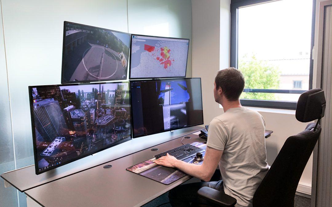 Connectiviteit in de lucht: Citymesh over wifi en 5G voor dronetoepassingen