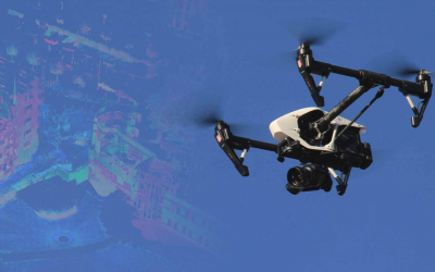 3D-scanning met drones: dé meettechniek van de toekomst in de bouw?