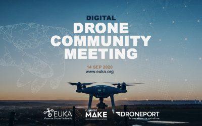 Eerste digitaal netwerkevent voor de Vlaamse drone community