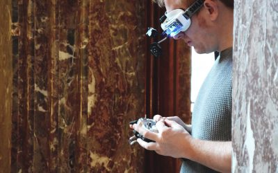 Dronanza zet nieuwe standaarden in beeldende kunst met drones