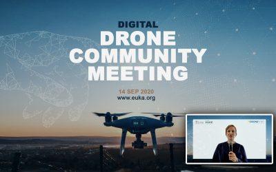 HERBEKIJK de eerste digitale versie van de drone community meeting