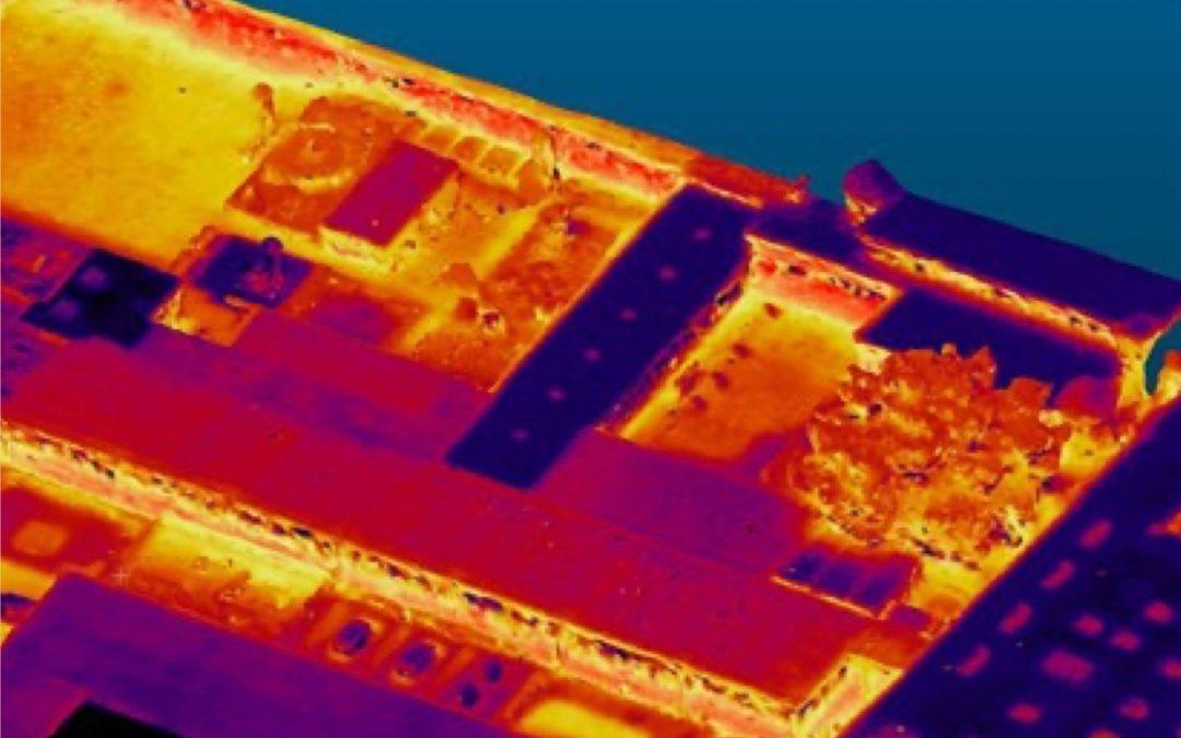 Drones tillen thermische scans naar hoger niveau in combinatie met fotogrammetrie