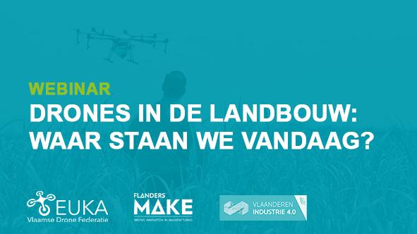 WEBINAR: 'Drones in de landbouw: waar staan we vandaag?'