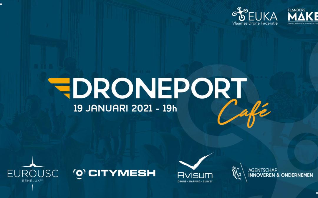 DronePort Café: succesvolle dronebedrijven getuigen #2