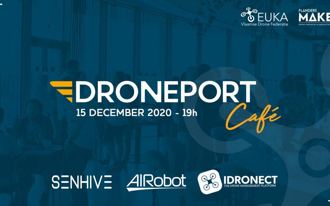 DronePort Café: succesvolle dronebedrijven getuigen #1