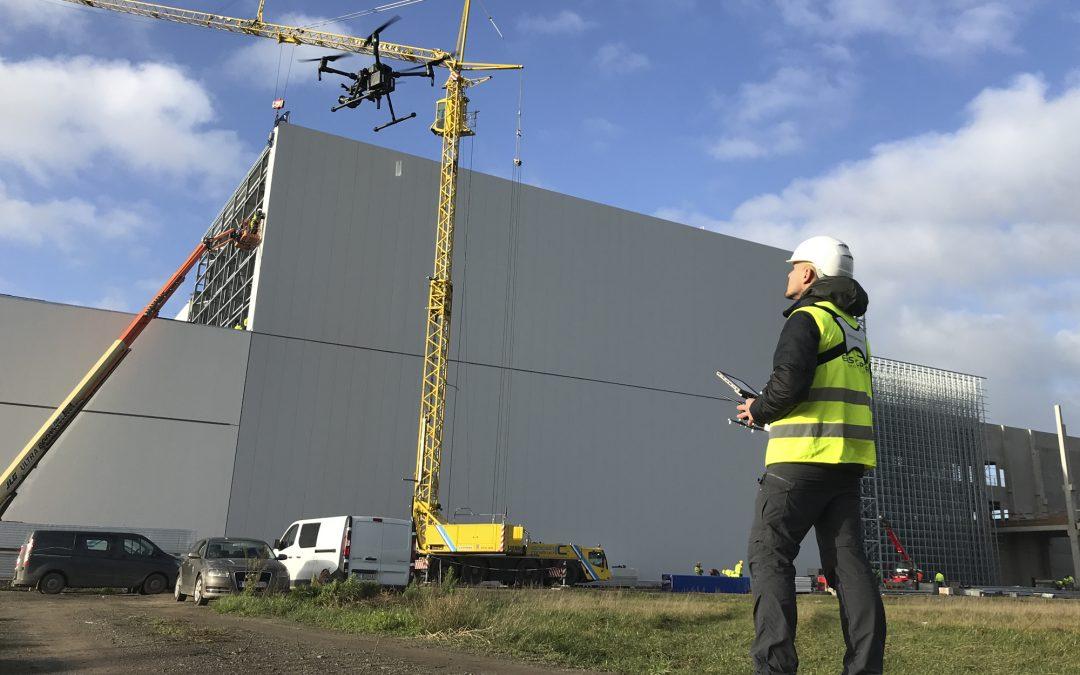 Gelicentieerd dronepiloot van de eerste generatie: Easycopters 5 jaar later
