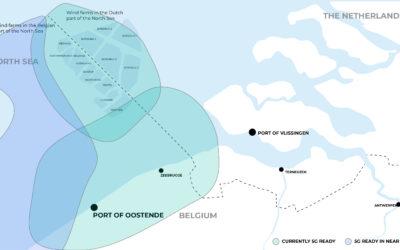 Citymesh breidt spectrumrechten in de 3.5GHz band uit op de Noordzee