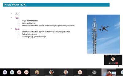 HERBEKIJK: webinar over de connectiviteit van drones en autonome systemen