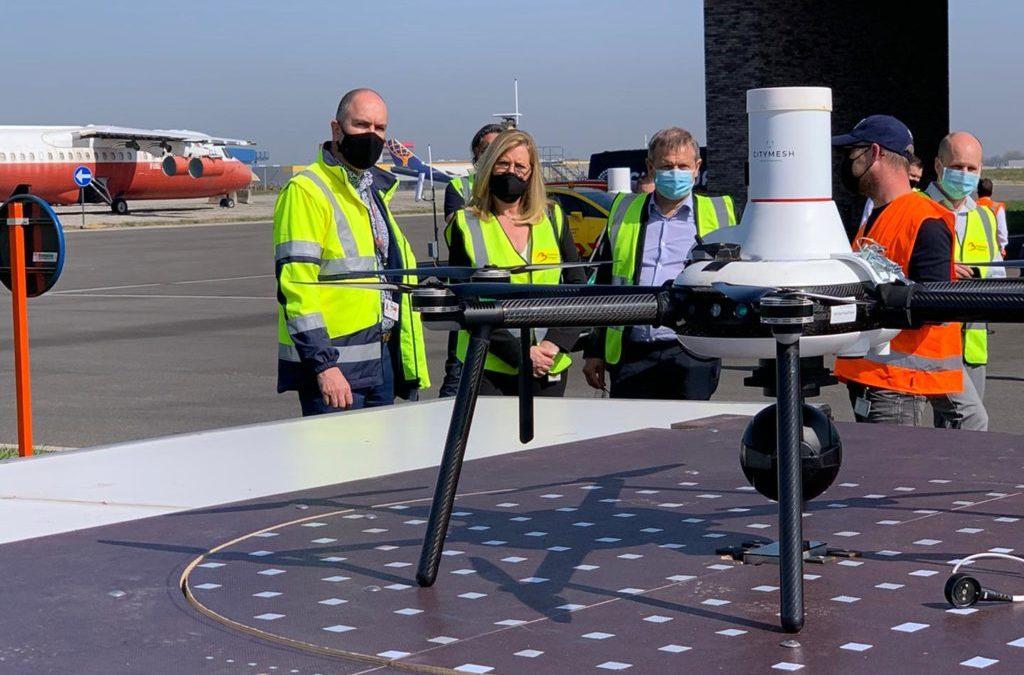 """SkeyDrone: """"Drones nabij kritieke infrastructuren, een zegen én een vloek"""""""