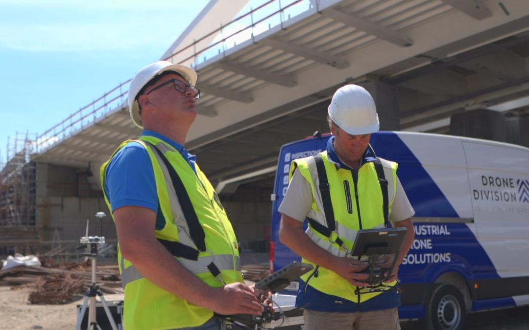 DroneDivision zet in op het inspecteren van kritische infrastructuur