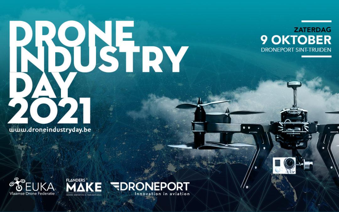 Toon je producten of diensten aan potentiële klanten tijdens de Drone Industry Day in oktober