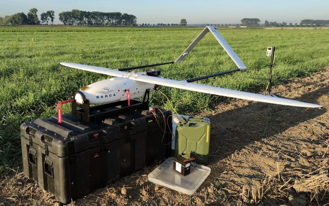 Port of Antwerp doet unieke testen met kleine fixed wing drone
