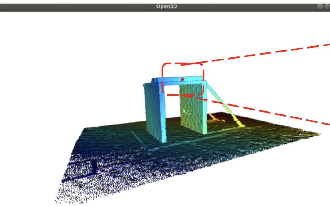 Scheuren detecteren op een 3D-model van een betonstructuur: hoe begin ik eraan?